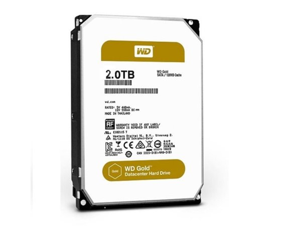 Western Digital HDD 2TB 3,5cal SATA 6Gb/s 128MB Cache