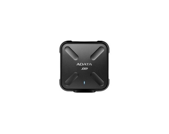 Adata SSD External SD700 1TB USB3.1 Durable Czarny