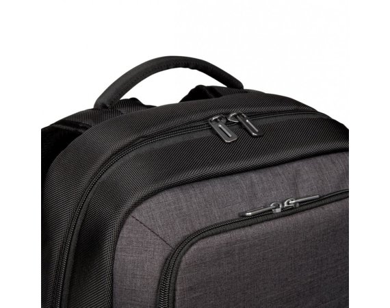 Targus CitySmart 12.5-15.6'' Essential Laptop Backpack - Black/Grey