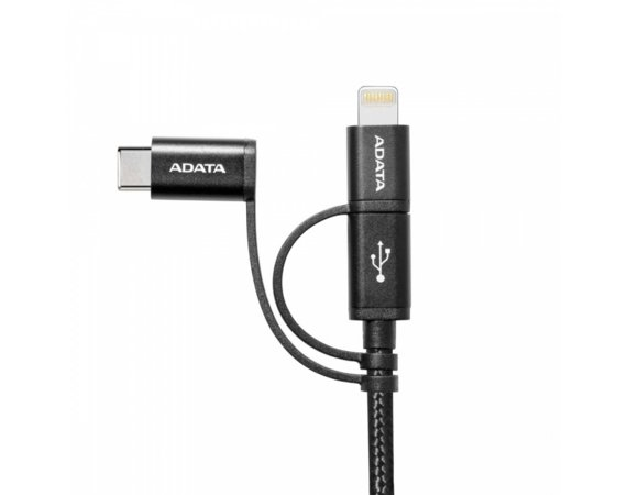Adata Kabel USB to USBC-mUSB 100cm 3in1