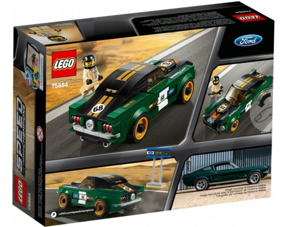 LEGO Speed Champions Ford Mustang Fastback 1968 75884