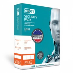 ESET Security Pack 3PC+ 3Sm Kon 2Y   ESP-K-2Y-6D