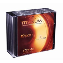 Titanum CD-R 700MB x56 - Slim 10
