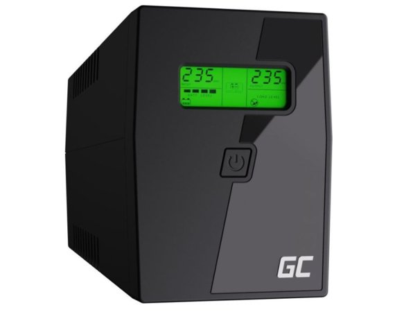 Green Cell Zasilacz awaryjny UPS 600VA 360W Power Proof