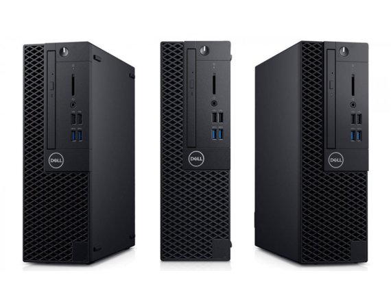 Dell Komputer Optiplex 3070 SFF W10Pro i5-9500/4GB/1TB/Intel UHD 630/DVD RW/KB216 & MS116/3Y BWOS