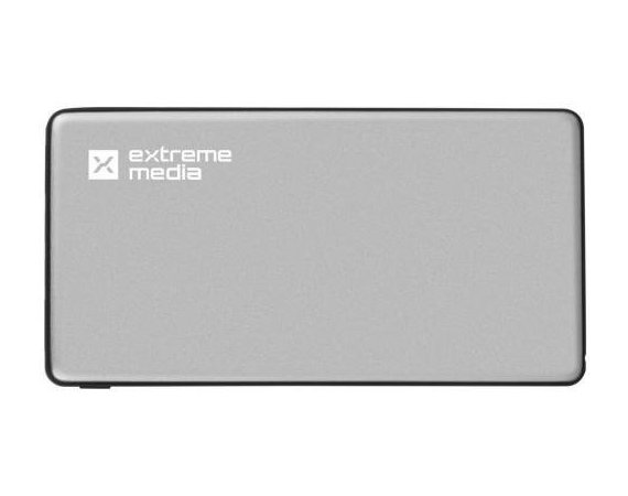 NATEC Power Bank EXTREME MEDIA 10000mAh Lightning szary