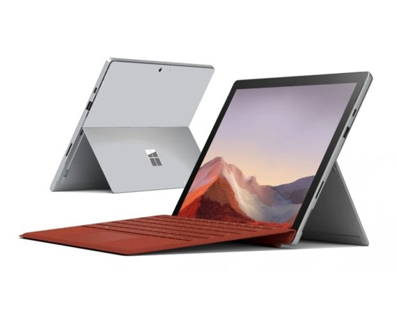 Microsoft Surface Pro 7 Platinum 256GB/i5-1035G4/16GB/12.3 Win10Pro Commercial PVS-00003