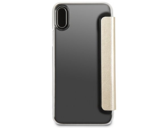 GUESS GUFLBKPXIGLTGO book iPhone X złoty Iridescent