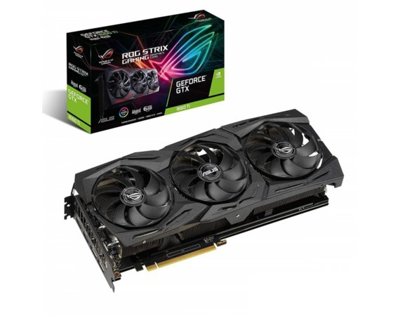 Asus Karta graficzna GeForce ROG STRIX GTX 1660 TI A6G GAMING 6GB GDDR6 192BIT 2HDMI/2DP
