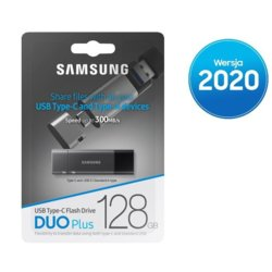 Samsung Pendrive DUO Plus 128GB USB-C/USB3.1 MUF-128DB/A