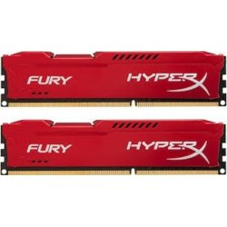HyperX DDR3 Fury  8GB/ 1600 (2*4GB) CL10 RED