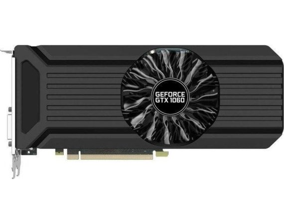 Palit GeForce GTX 1060 StormX 6 GB DDR5 192BIT DVI-D/HDMI/3DP