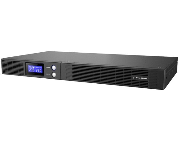 PowerWalker UPSLine-In 750VA 1RU 4x IEC Out, USB HID/RS-232, Rack 19''