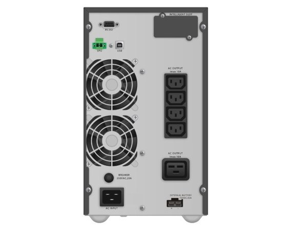 PowerWalker UPS On-Line 3000VA TGB 4x IEC, LCD, EPO, USB/RS-232 Tower
