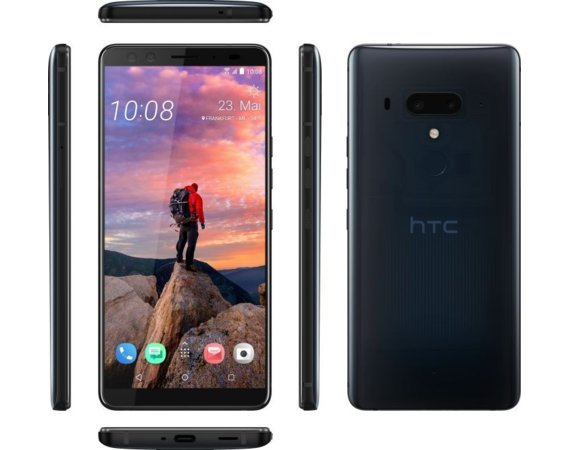 HTC U12+ Dual Sim Translucent Nightfall