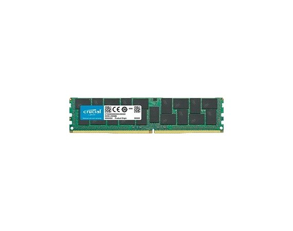 Crucial Pamięć serwerowa DDR4  32GB/2666(1*32) ECC     CL19 LRDIMM DRx4 Load Reduced