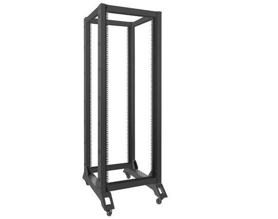 LANBERG Stojak Open Rack 32U 600x800mm czarny