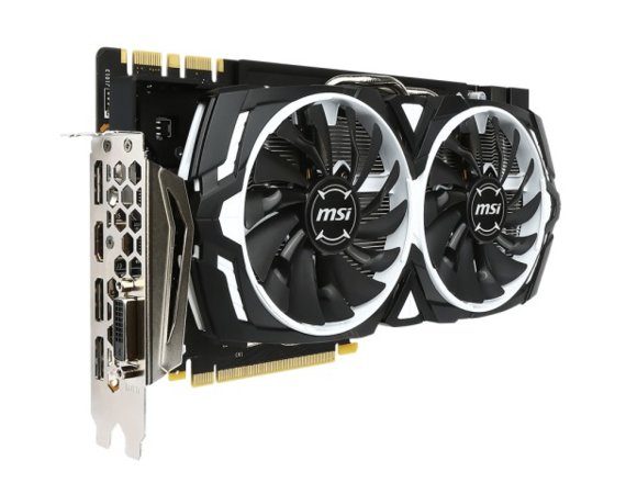 MSI GeForce GTX 1080 8GB DDR5 256BIT DVI/HDMI/3DP/HDCP