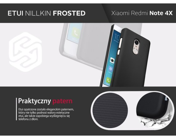 Nillkin Etui Frosted Xiaomi Redmi Note 4X Gold