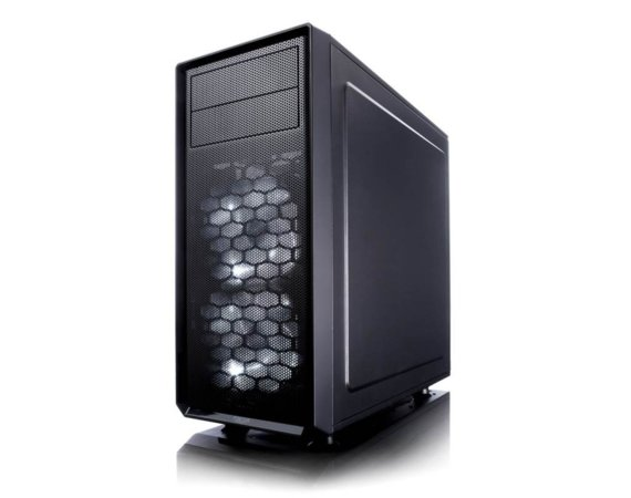 Fractal Design Focus G Window 3.5 HDD/2.5'SDD uATX/ATX/ITX Black