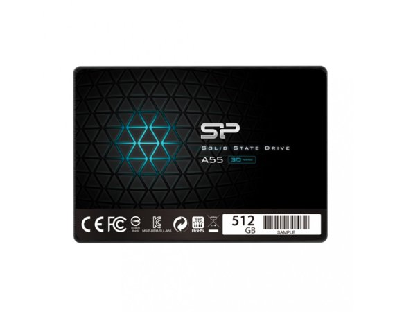 "Silicon Power Dysk SSD Ace A55 512GB 2,5"" SATA3 560/530 MB/s 7mm"