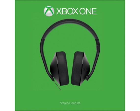Microsoft Headset Stereo Xbox One Black S4V-00013 (NEW)