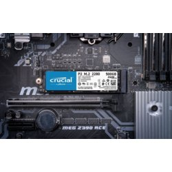 Crucial Dysk SSD P2 500GB M.2 PCIe NVMe 2280 2300/940MB/s
