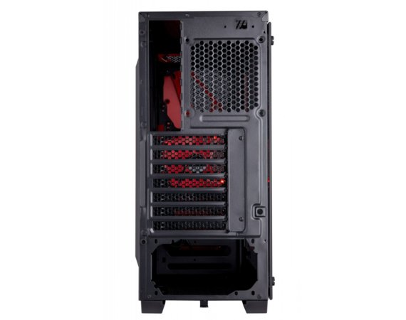 Corsair CARBIDE SERIES SPEC-04 Windowed  Tempered Glass Mid-Tower Gaming Case Black/Red