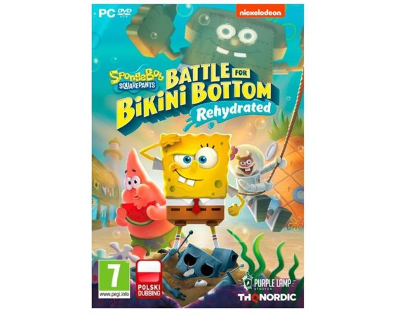 KOCH Gra PC SpongeBob Square Pants Battle for Bikini Bottom          Rehydrated