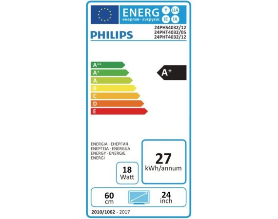 Philips 24'' LED 24PHT4032/12