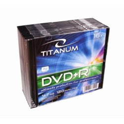 Titanum DVD+R 4,7 GB x16 - Slim 10