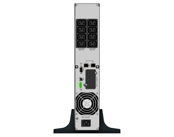 PowerWalker UPS LINE-INTERACTIVE 2000VA 8X IEC OUT, RJ11/RJ45   IN/OUT, USB/RS-232, LCD, RACK 19''