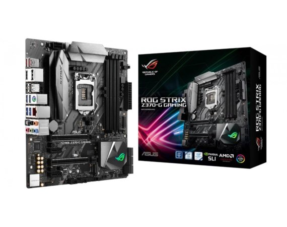 Asus ROG STRIX Z370-G GAMING 4DDR4 USB3/M.2 uATX