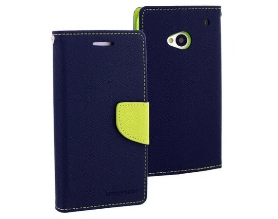 Mercury Etui FANCY Note 4 granat/limonka, notes