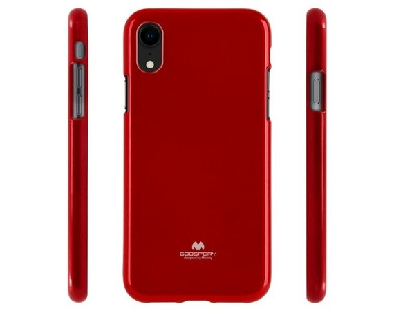 Mercury Etui JELLY Case iPhone 11 Pro Max czerwony
