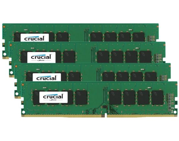 Crucial DDR4 16GB/2133(4*4GB) CL15 SR x8 288pin