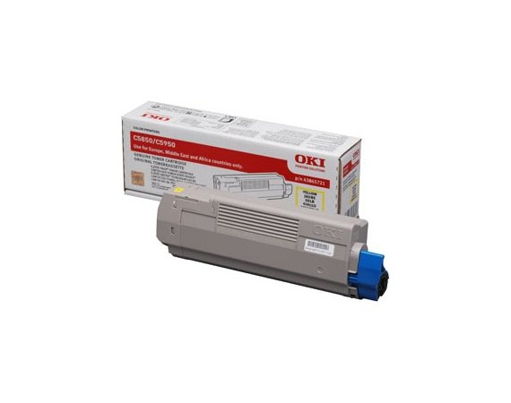 OKI Toner C5850/5950 Yellow (6k)