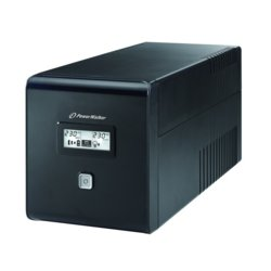 PowerWalker Zasilacz UPS LINE-INTERACTIVE 1000VA 2X 230V PL + 2XIEC OUT, RJ11/RJ45 IN/OUT, USB, LCD