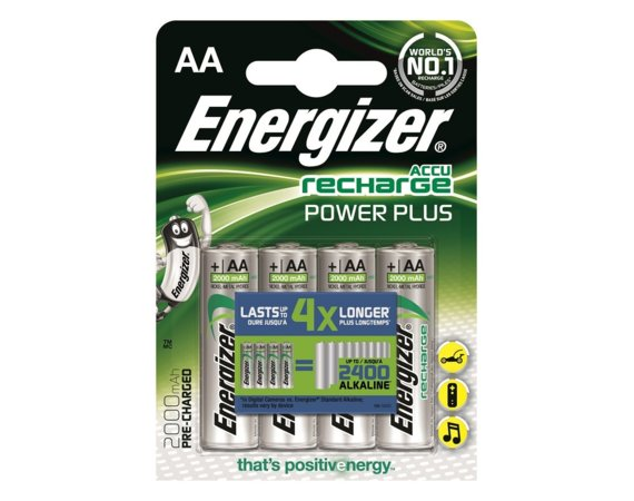 Energizer Akumulator Power Plus AA L91 2000 mAh 4 szt. blister