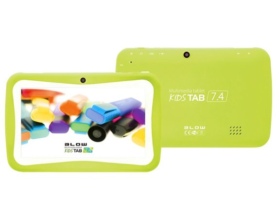 BLOW Tablet KidsTAB7.4 quad zielony+etui
