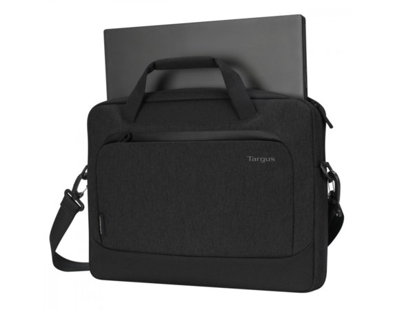Targus Torba na laptopa Cypress 14cali Slimcase with EcoSmart czarna