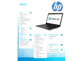 HP Inc. 450 G5 2RS15EA
