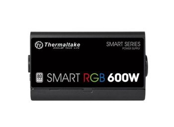 Thermaltake Smart 600W RGB (80+ 230V EU, 2xPEG, 120mm, Single Rail)