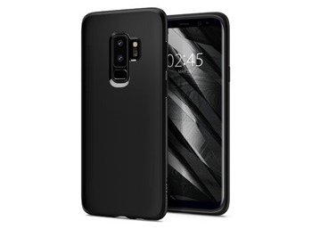 SPIGEN SGP  Liquid Crystal Etui Galaxy S9+ Plus Matte Black