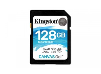 Kingston SD 128GB Canvas Go 90/45MB/s CL10 U3 V30