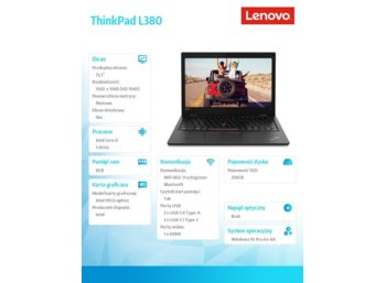Lenovo ThinkPad L380 20M50013PB