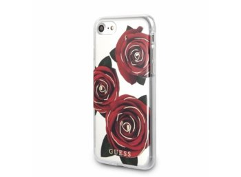 GUESS GUHCP8ROSTR hardcase iPhone 7/8 transparentny