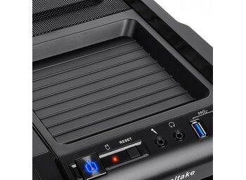 Thermaltake Chaser A31 USB 3.0 Window (2x120mm, LED), czarna