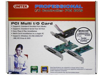 Unitek Kontroler PCI  1x Parallel; Y-7505