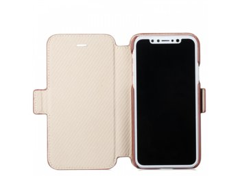 Holdit Style Berlin Slim Flip walletcase iPhone X brązowy